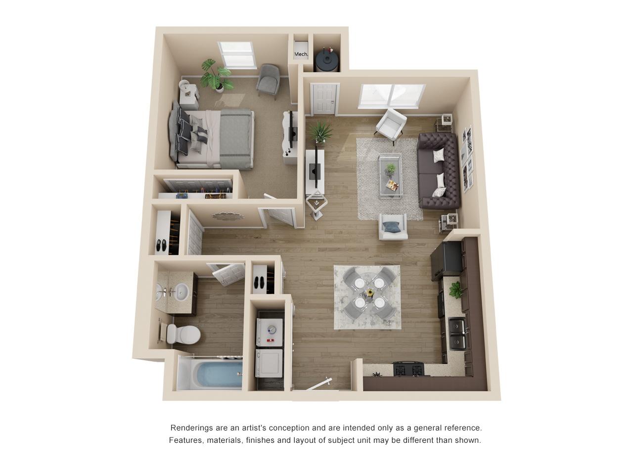 Southeast Austin Tx Apartments Goodnight Commons Floor Plans